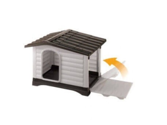 Choisir une niche pour son chien mod le bois ou plastique - Niche pour chien originale ...