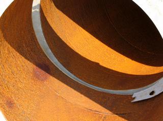 L'acier Corten au jardin : présentation, utilisations, idées