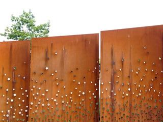 Panneaux ajourés en acier Corten