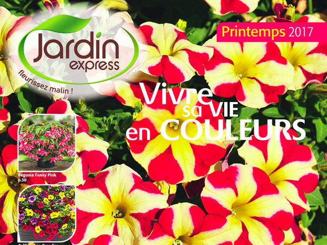 Catalogue jardin express printemps 2017 for Jardin express