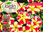 Catalogue Jardin Express printemps 2017
