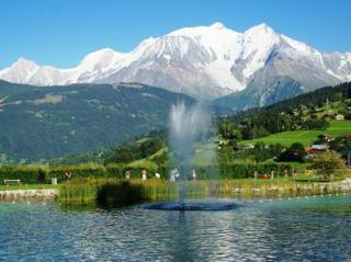 Plan d'eau Biotope de Combloux : une piscine écologique