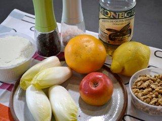 Ingrédients salade d'endives / I.G.