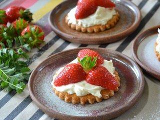 Galettes aux fraises / I.G.