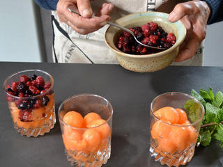 Ajout des fruits rouges / I.G.