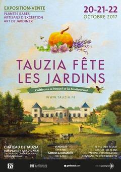 Tauzia fête les jardins - automne 2017