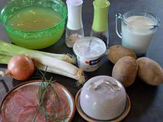 Vichyssoise : ingrédients / I.G.