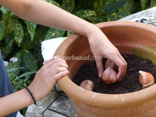 Occuper les enfants au jardin