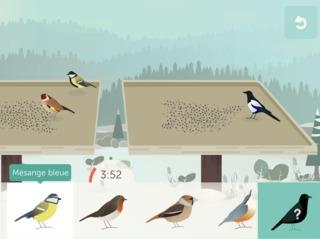 Capture d'écran BirdLab