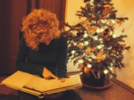 Un sapin de Noël en pot