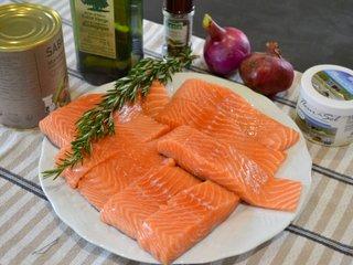 Dos de saumon frais / I.G.