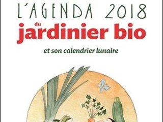 L'agenda 2018 du jardinier bio