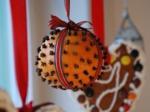Une pomme d'ambre pour Noël