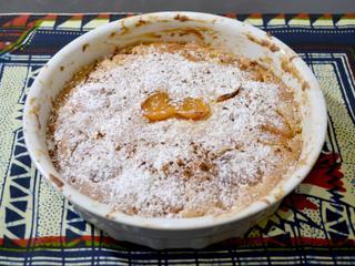 Gâteau abricots secs et cannelle / I.G.