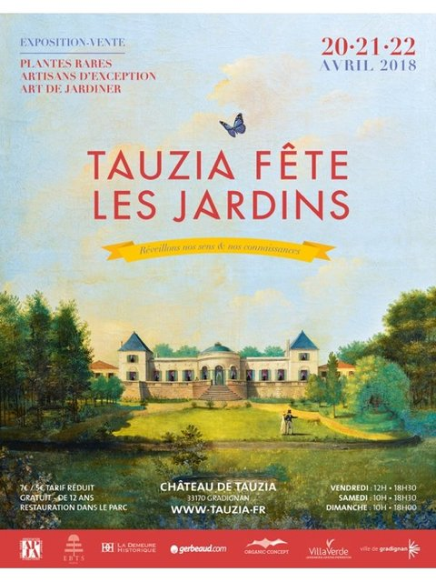 Tauzia fête les jardins - printemps 2018