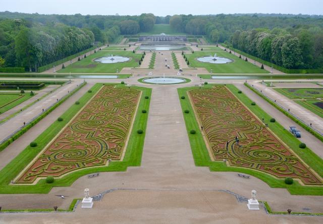 Jardin du Château de Vaux-le-Vicomte (Seine et Marne) (Les plus beaux jardins de France)
