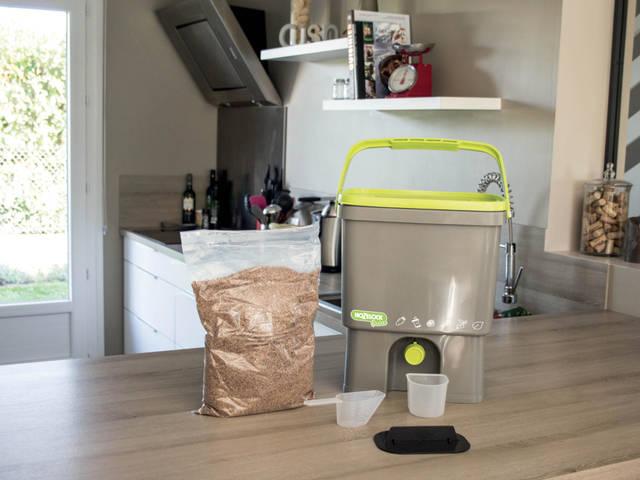Bokashi : on a testé le composteur de cuisine