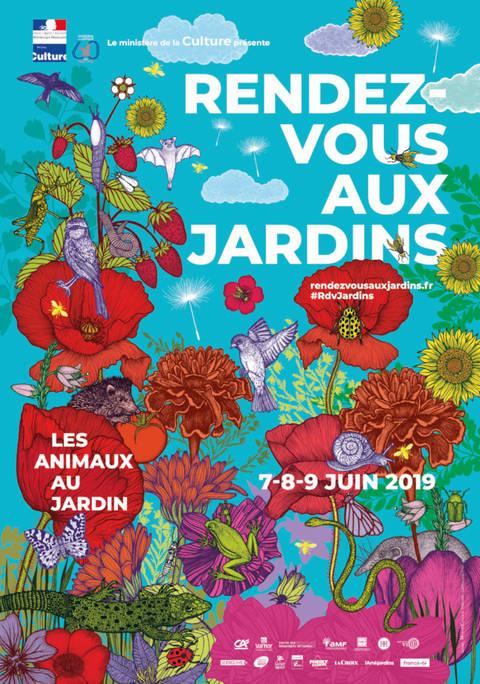 Rendez-vous aux Jardins - juin 2019