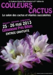 Couleurs Cactus Club Salon des cactus, succulentes et plantes adaptées à la sécheresse 6ème édition les 25 et 26 mai 201...