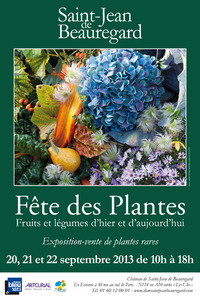 Fête des Plantes, Fruits et Légumes de Saint-Jean de Beauregard - Château de Saint-Jean de Beauregard - Septembre 2013