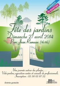 Fête des jardins - Mont de Marsan - Avril 2014
