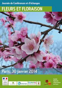 """Journée de Conférences et d'échanges sur le thème """"Fleurs et Floraison"""" - Paris - Paris - Janvier 2014"""