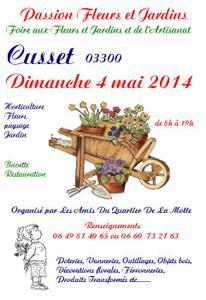 Foire aux fleurs et jardin et de l'artisanat - Cusset - Mai 2014