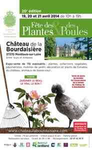 20e Fête des Plantes & des Poules - Montlouis-sur-Loire (37 - Indre-et-Loire) - Avril 2014