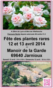 Fête des Plantes Rares - Jarnioux - Avril 2014