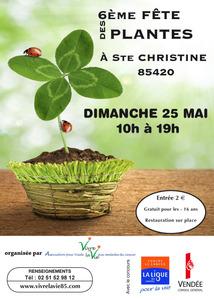 6e fête des plantes à Ste Christine - Ste Christine - Mai 2014