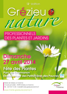 Fête des plantes GREZIEU NATURE - Grézieu la Varenne - Avril 2014