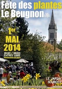 Fête des Plantes du Beugnon (79) - Le Beugnon - Mai 2014