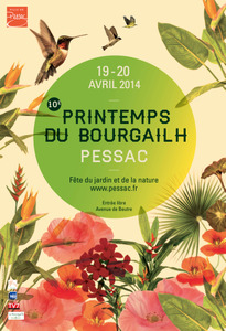 10e Printemps du Bourgailh - Pessac - Avril 2014