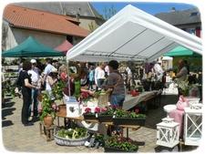 22e Marché aux Fleurs et à la décoration de jardin - Rodemack - Mai 2014