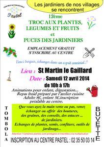 11ème Troc aux plantes, légumes et fruits - Saint Martin le Gaillard - Avril 2014