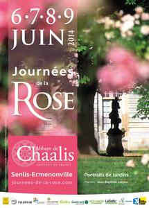 Les Journées de la Rose à l'Abbaye de Chaalis -  Fontaine-Chaalis - Juin 2014