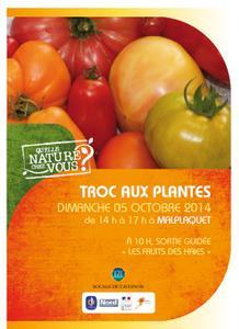 Troc aux plantes  - Taisnières-Sur-Hon - Octobre 2014