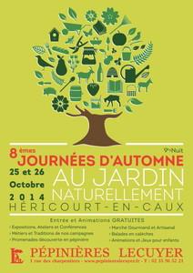 """8èmes Journées d'Automne """"Au Jardin Naturellement..."""" - Héricourt-en-Caux - Octobre 2014"""