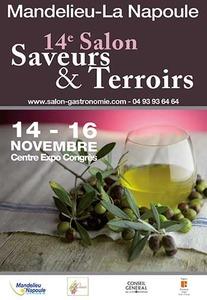 14ème Salon Saveurs & Terroirs - Mandelieu-La-Napoule  - Novembre 2014