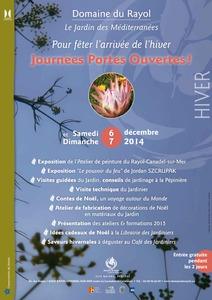 Journées portes ouvertes - Fête de l'Hiver  - Rayol-Canadel-sur-Mer - Décembre 2014