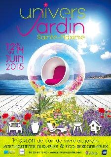 Univers Jardin - Sainte Maxime - Juin 2015