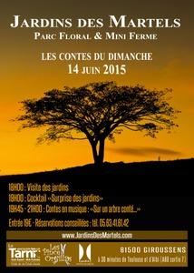 Les contes du dimanche - Giroussens - Juin 2015