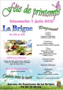 Fête de Printemps - La Brigue - Juin 2015