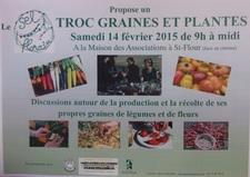Troc Graines et Plantes - Saint-Flour - Février 2015