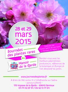 Journées des Plantes du Manoir de la Garde - Jarnioux - Mars 2015