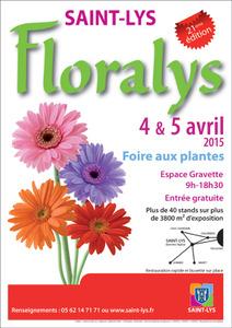 Floralys - Foire aux plantes - Saint-Lys - Avril 2015