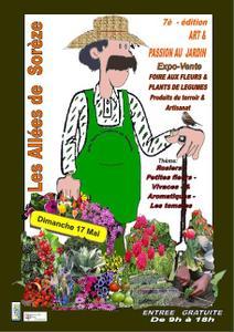 7ème Art et Passion au jardin  - Sorèze - Mai 2015
