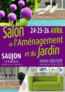 Salon de l'aménagement et du jardin - Saujon - Avril 2015