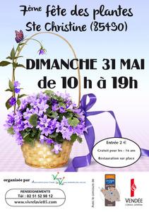 7ème Fête des Plantes - Benet - Mai 2015