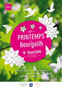 11e Printemps du Bourgailh - Pessac - Avril 2015